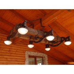 Світильник дерев'яний (кований)
