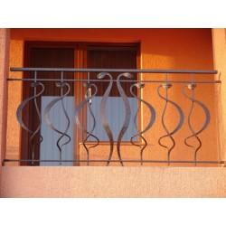 Ковані балконні перила