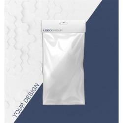 """Производство упаковки. Пакеты с креплением """"евро-слот"""" с лого. Оптом"""