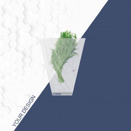 Пакет конусний / конусный пакет / упаковка для зелени и вазонов