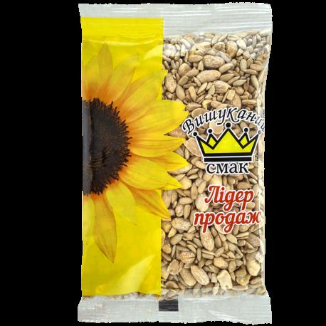 Мікс ядра соняшника смаженого підсоленого та арахісу лущеного чищеного смаженого підсоленого. ТМ Вишуканий Смак